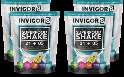 INVIGOR8 Superfood Shake - 4 x 43 gram